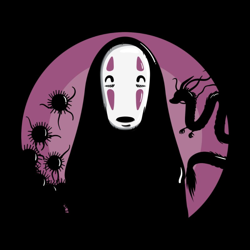 No-Face Men's V-Neck by mebzart's Artist Shop