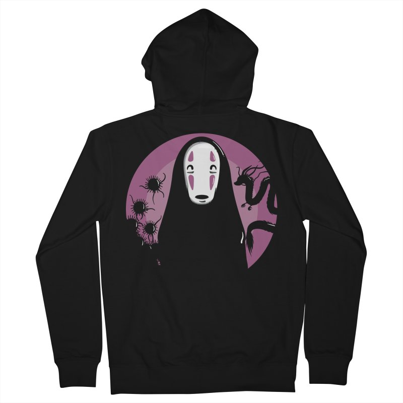 No-Face Women's Zip-Up Hoody by mebzart's Artist Shop