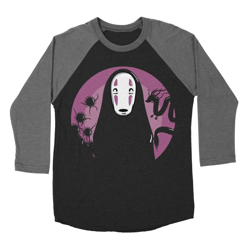 No-Face Women's Longsleeve T-Shirt by mebzart's Artist Shop