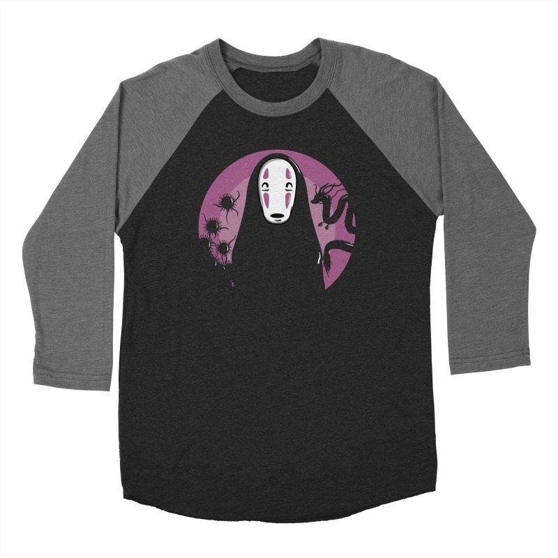 No-Face Men's Baseball Triblend Longsleeve T-Shirt by mebzart's Artist Shop