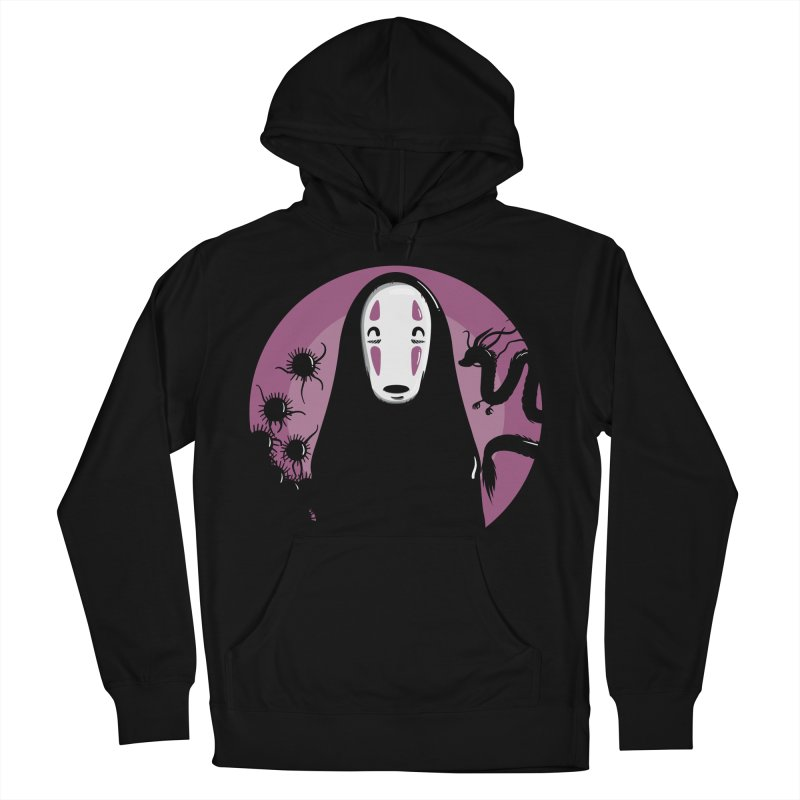 No-Face Men's French Terry Pullover Hoody by mebzart's Artist Shop
