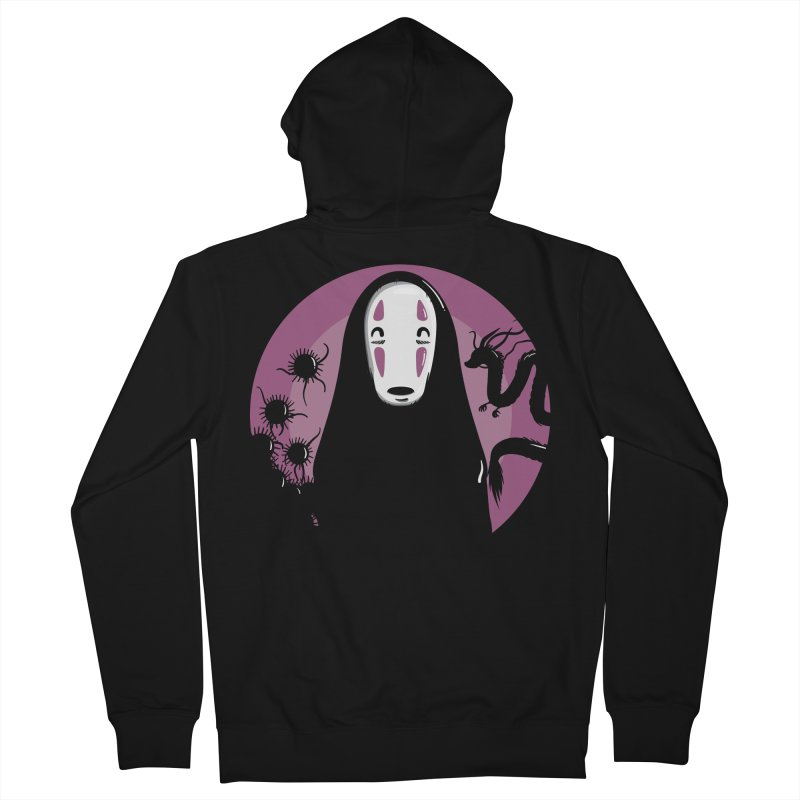 No-Face Women's French Terry Zip-Up Hoody by mebzart's Artist Shop