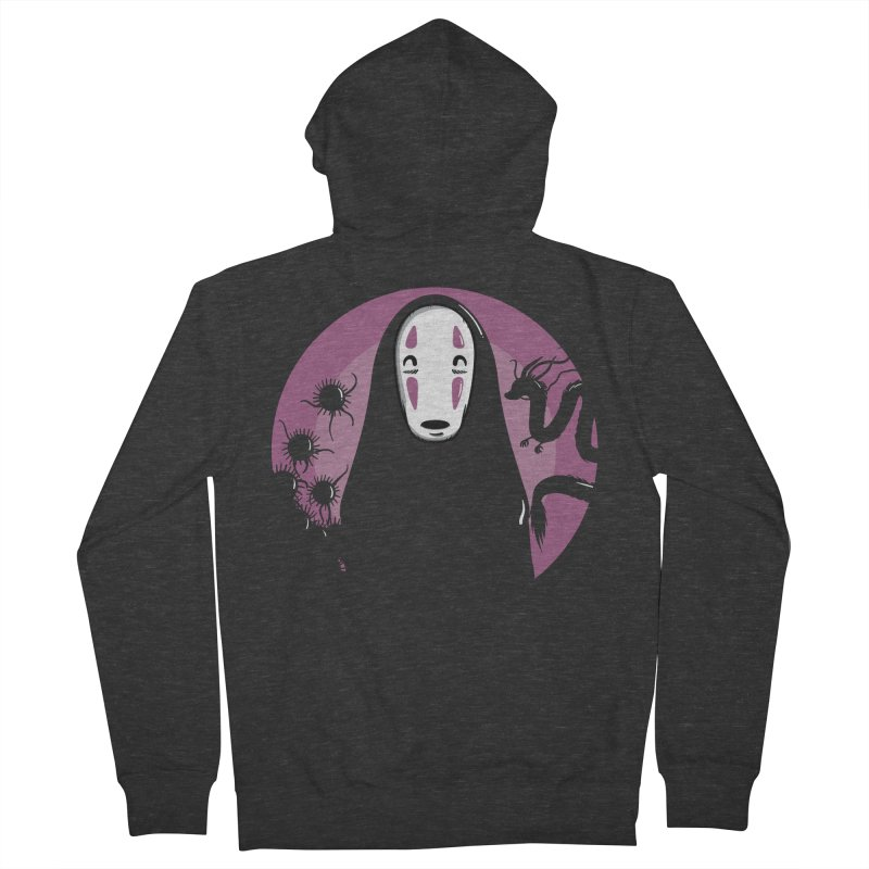 No-Face Men's French Terry Zip-Up Hoody by mebzart's Artist Shop