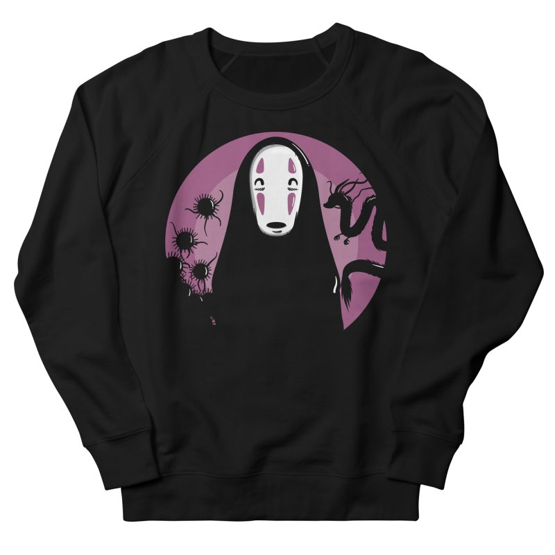 No-Face Men's French Terry Sweatshirt by mebzart's Artist Shop
