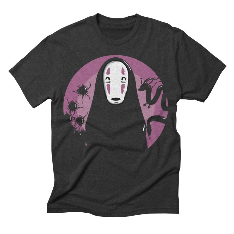 No-Face Men's Triblend T-shirt by mebzart's Artist Shop