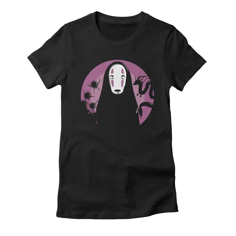 No-Face Women's T-Shirt by mebzart's Artist Shop