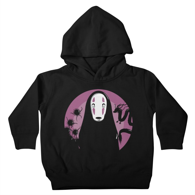 No-Face Kids Toddler Pullover Hoody by mebzart's Artist Shop