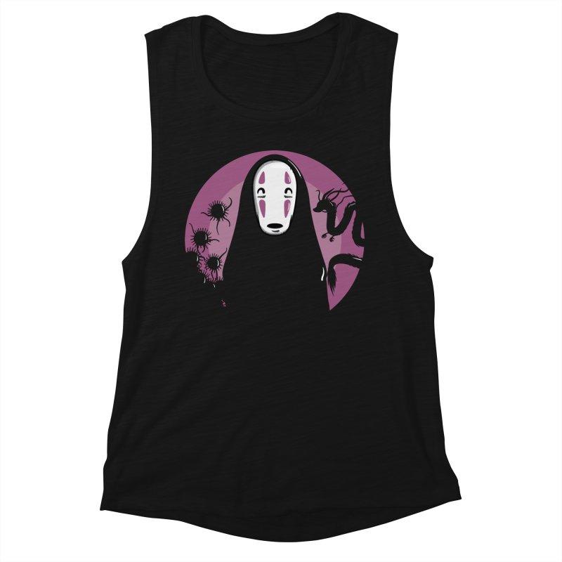 No-Face Women's Tank by mebzart's Artist Shop