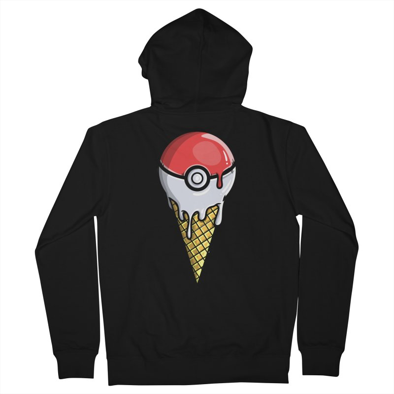 Gotta Lick 'Em All Men's Zip-Up Hoody by mebzart's Artist Shop