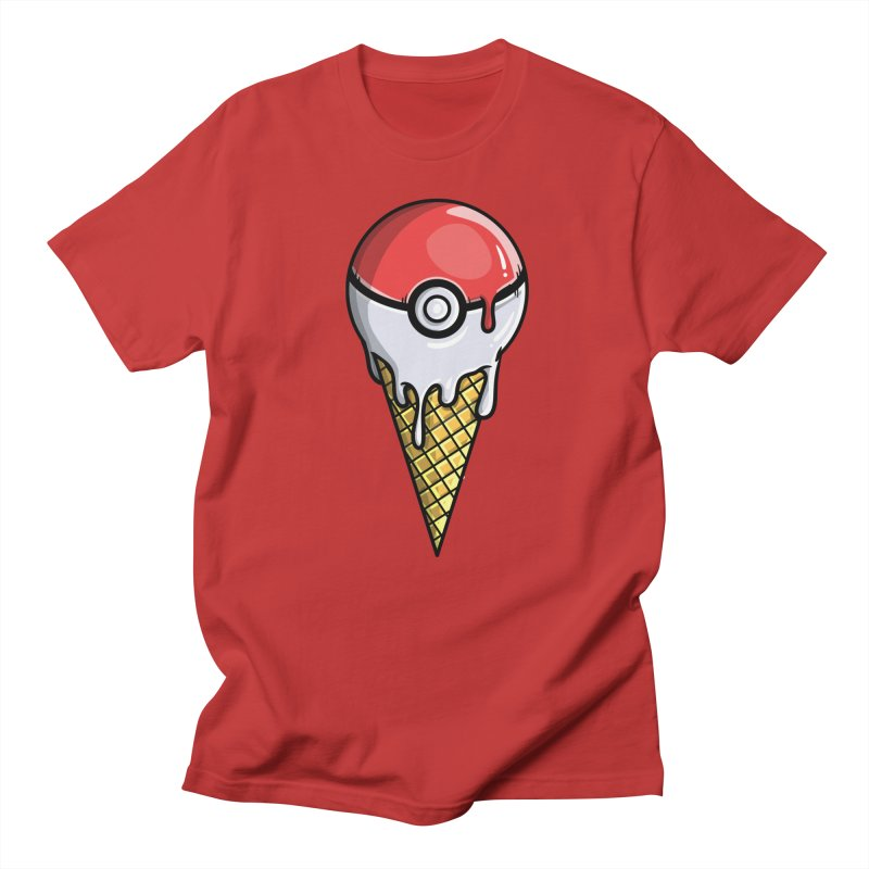 Gotta Lick 'Em All Men's T-Shirt by mebzart's Artist Shop