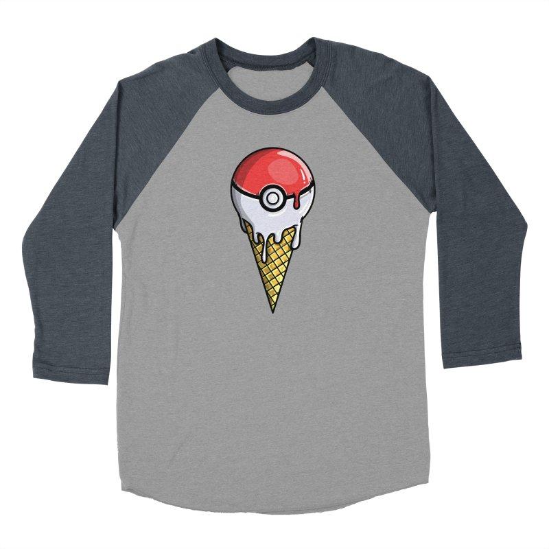 Gotta Lick 'Em All Women's Baseball Triblend Longsleeve T-Shirt by mebzart's Artist Shop