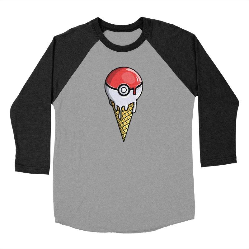 Gotta Lick 'Em All Men's Baseball Triblend Longsleeve T-Shirt by mebzart's Artist Shop