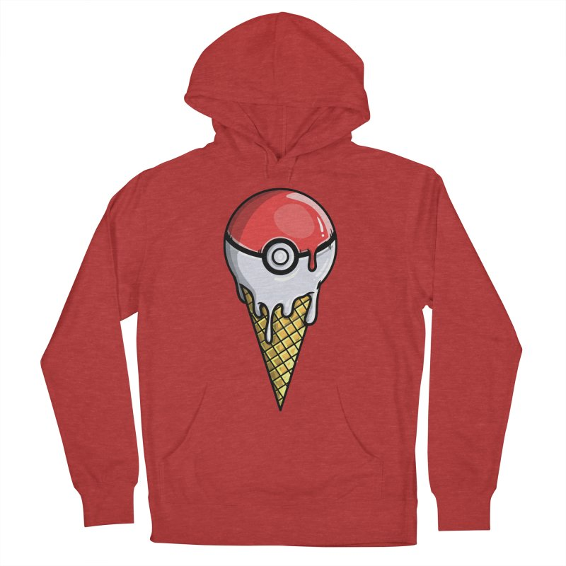 Gotta Lick 'Em All Men's French Terry Pullover Hoody by mebzart's Artist Shop