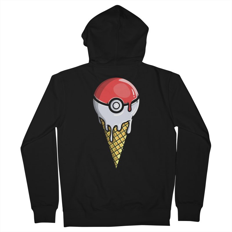 Gotta Lick 'Em All Women's French Terry Zip-Up Hoody by mebzart's Artist Shop