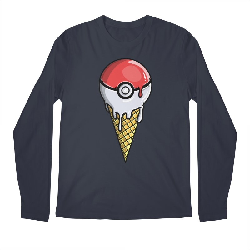 Gotta Lick 'Em All Men's Longsleeve T-Shirt by mebzart's Artist Shop