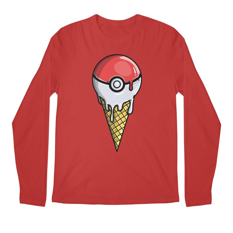 Gotta Lick 'Em All Men's Regular Longsleeve T-Shirt by mebzart's Artist Shop