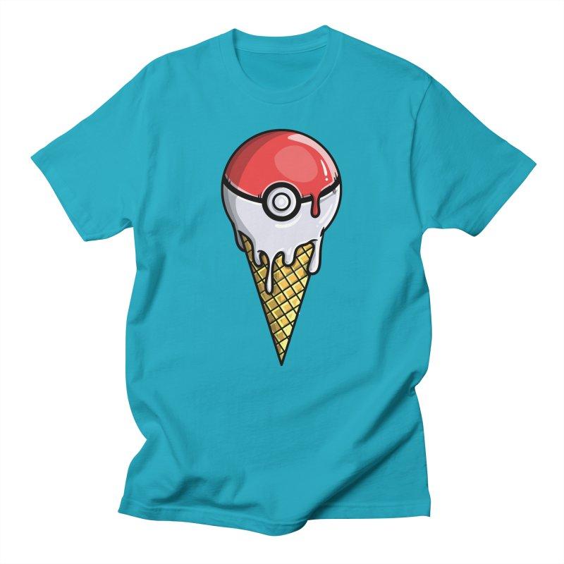 Gotta Lick 'Em All Men's T-Shirt by mebzart's Artist Shop