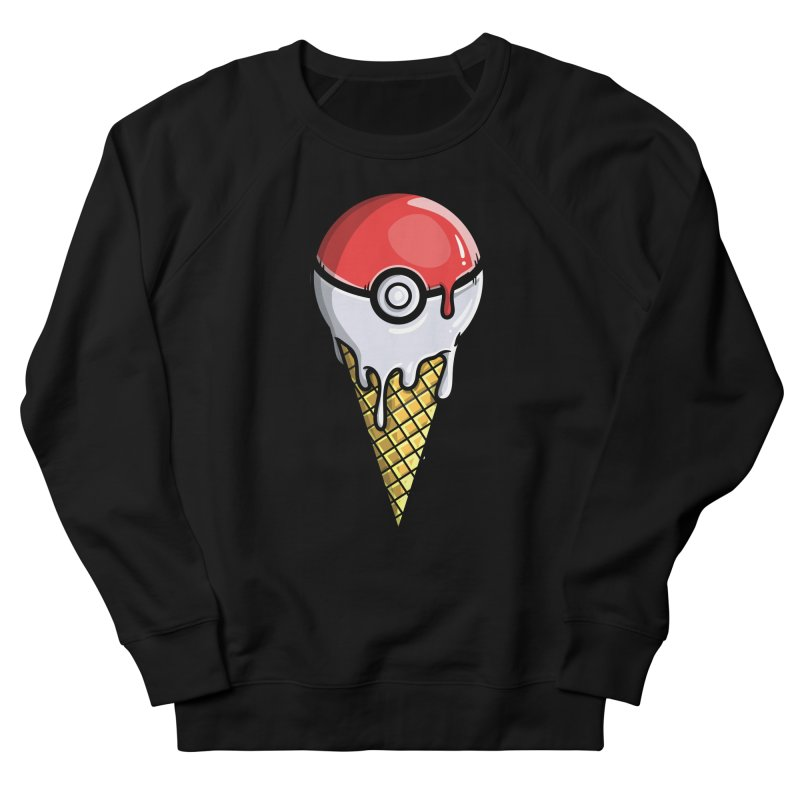 Gotta Lick 'Em All Men's French Terry Sweatshirt by mebzart's Artist Shop