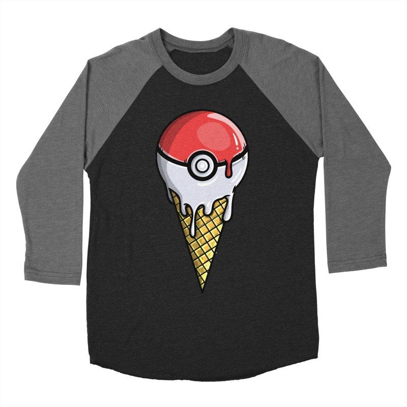 Gotta Lick 'Em All Men's Baseball Triblend T-Shirt by mebzart's Artist Shop