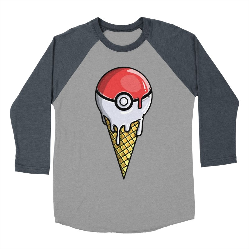 Gotta Lick 'Em All Men's Baseball Triblend T-Shirt by mebzart's Artist Shop