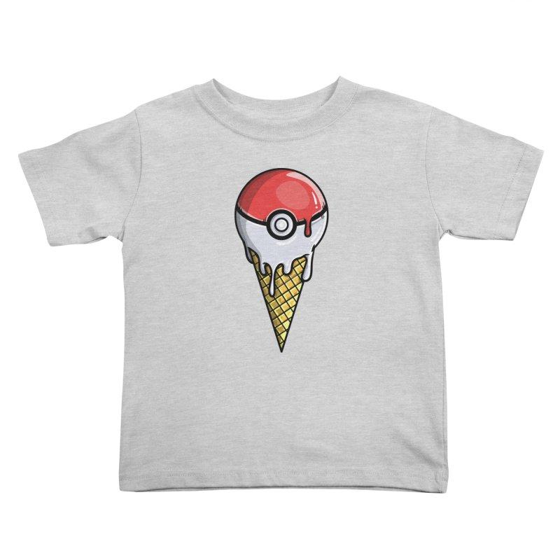 Gotta Lick 'Em All Kids Toddler T-Shirt by mebzart's Artist Shop