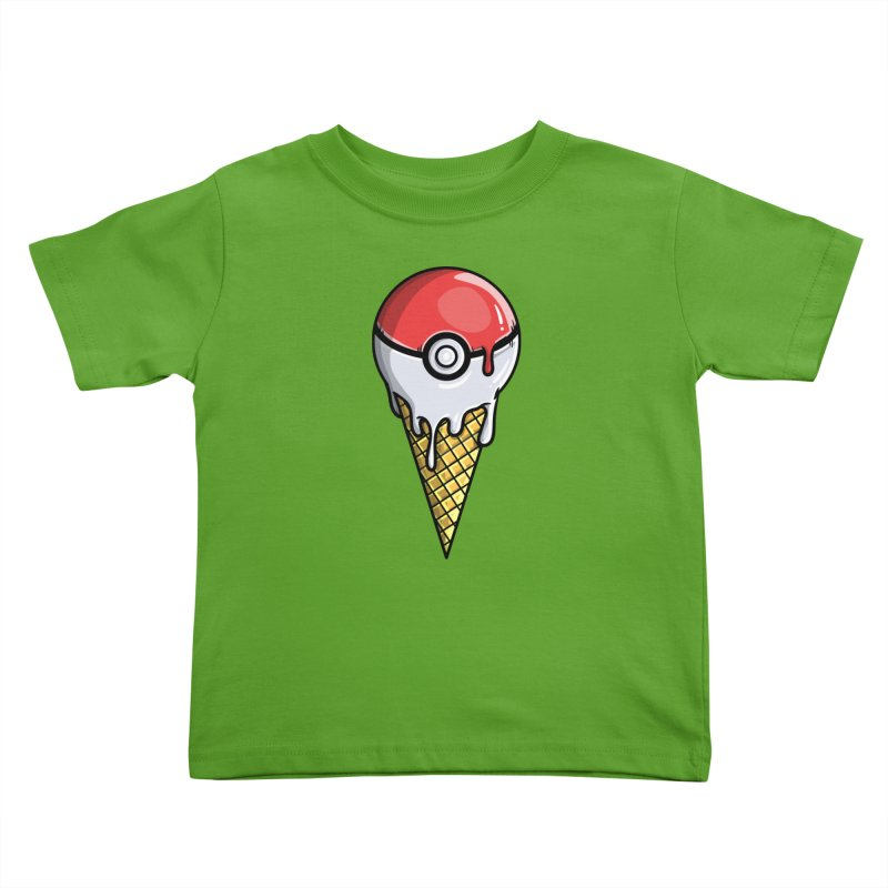Gotta Lick 'Em All Kids Toddler T-Shirt by mebzart's Artist Shop
