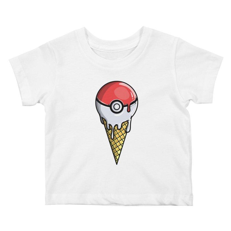 Gotta Lick 'Em All Kids Baby T-Shirt by mebzart's Artist Shop