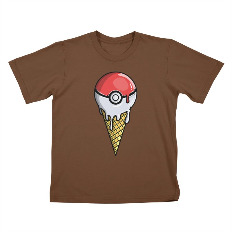 Gotta Lick 'Em All Kids T-Shirt by mebzart's Artist Shop