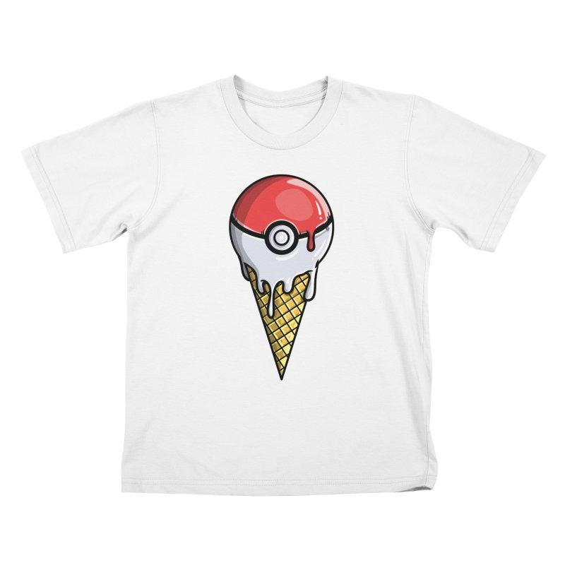 Gotta Lick 'Em All Kids T-Shirt by mebzart's Artist Shop