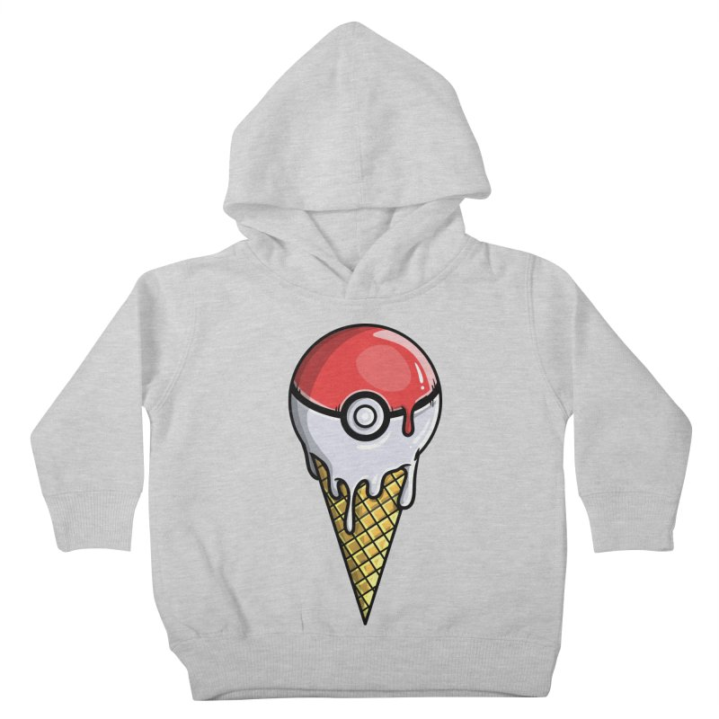 Gotta Lick 'Em All Kids Toddler Pullover Hoody by mebzart's Artist Shop