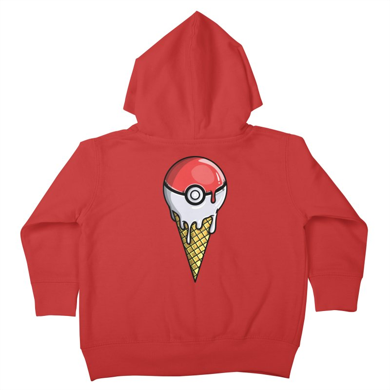 Gotta Lick 'Em All Kids Toddler Zip-Up Hoody by mebzart's Artist Shop