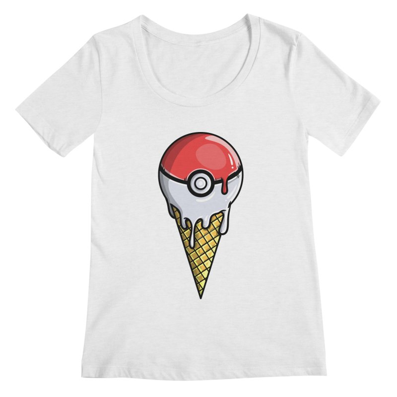 Gotta Lick 'Em All Women's Scoop Neck by mebzart's Artist Shop