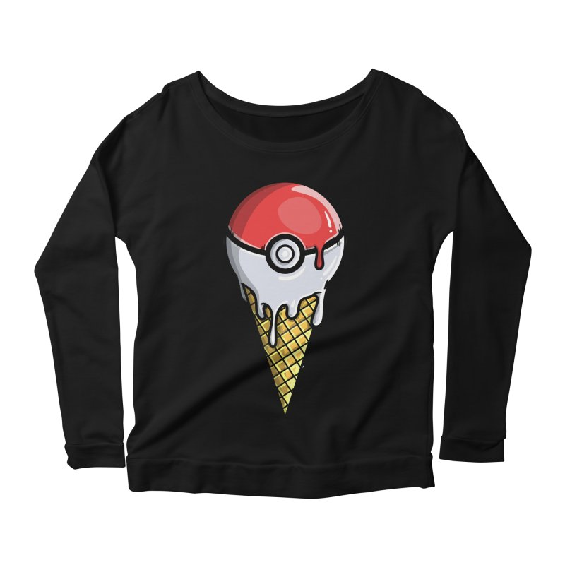 Gotta Lick 'Em All Women's Scoop Neck Longsleeve T-Shirt by mebzart's Artist Shop