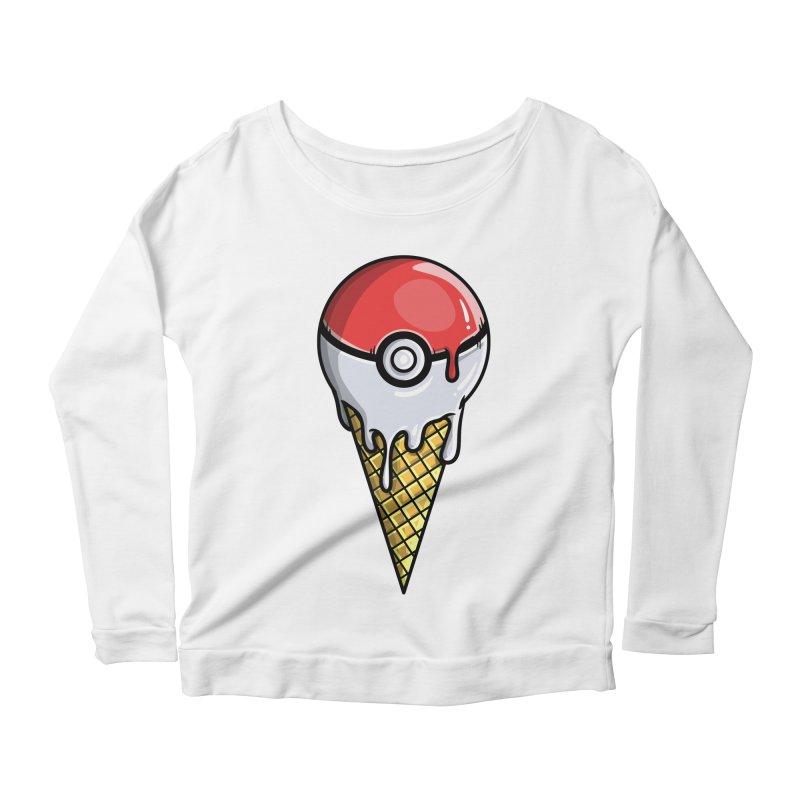 Gotta Lick 'Em All Women's Scoop Neck Longsleeve T-Shirt by mebzart's Artist Shop