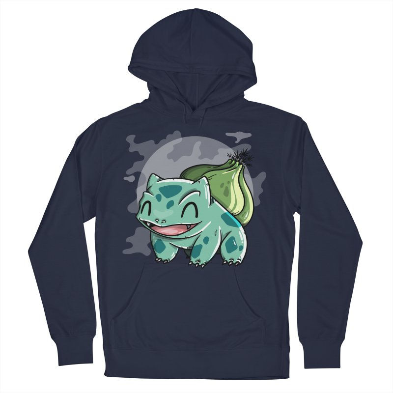 Bulbasaur Men's Pullover Hoody by mebzart's Artist Shop