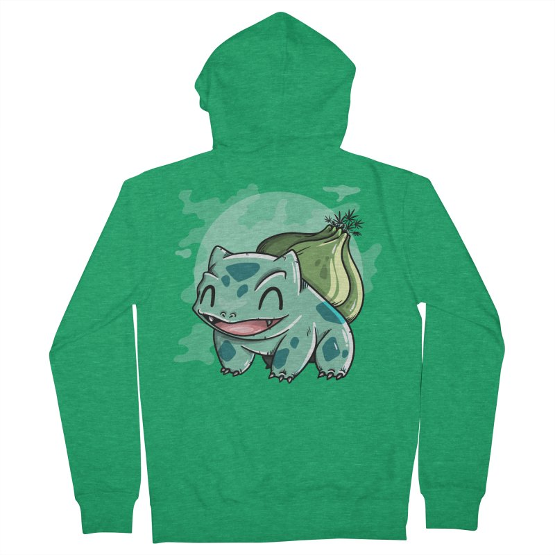 Bulbasaur Women's Zip-Up Hoody by mebzart's Artist Shop