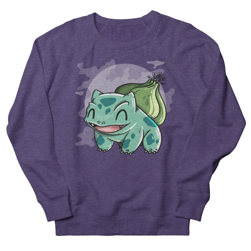 Bulbasaur Women's Sweatshirt by mebzart's Artist Shop