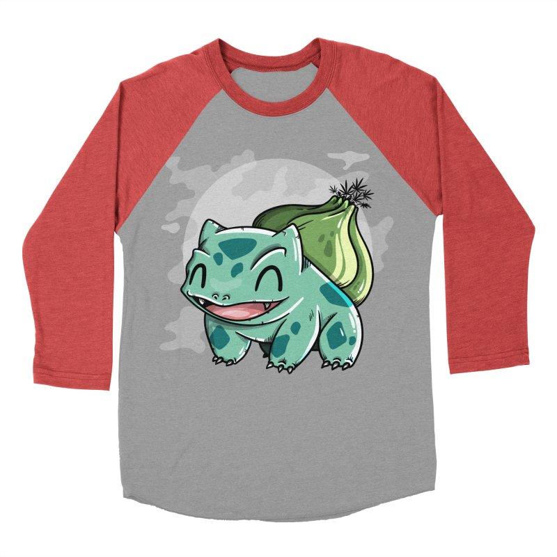 Bulbasaur Men's Longsleeve T-Shirt by mebzart's Artist Shop