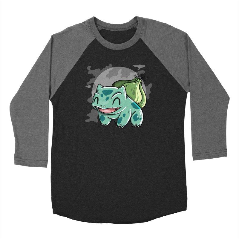 Bulbasaur Women's Baseball Triblend Longsleeve T-Shirt by mebzart's Artist Shop