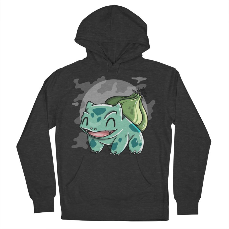 Bulbasaur Women's French Terry Pullover Hoody by mebzart's Artist Shop