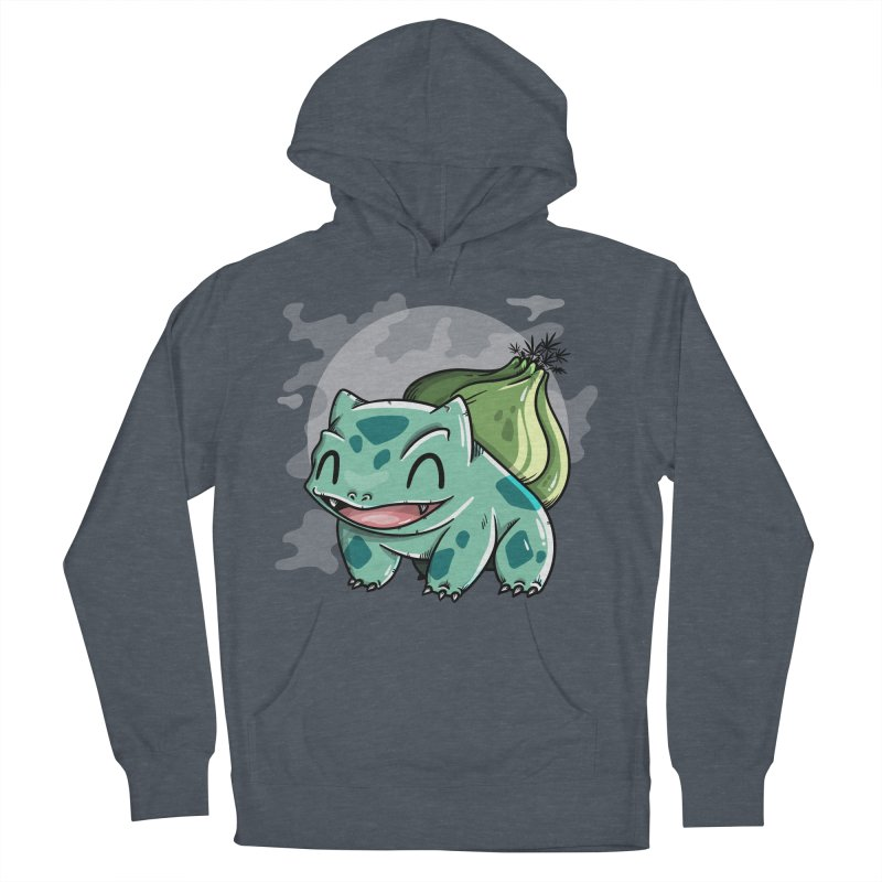 Bulbasaur Men's French Terry Pullover Hoody by mebzart's Artist Shop