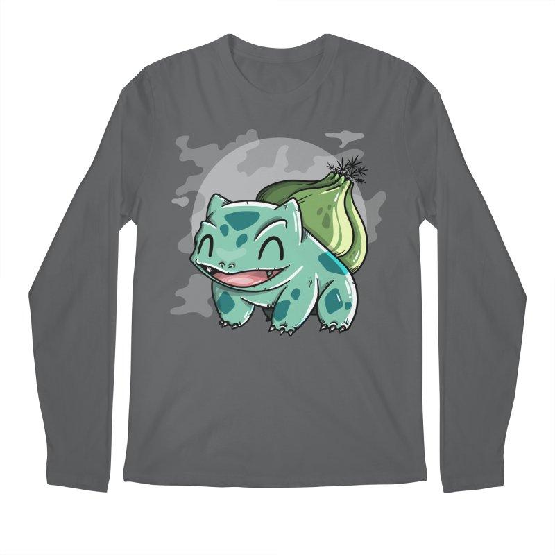 Bulbasaur Men's Regular Longsleeve T-Shirt by mebzart's Artist Shop
