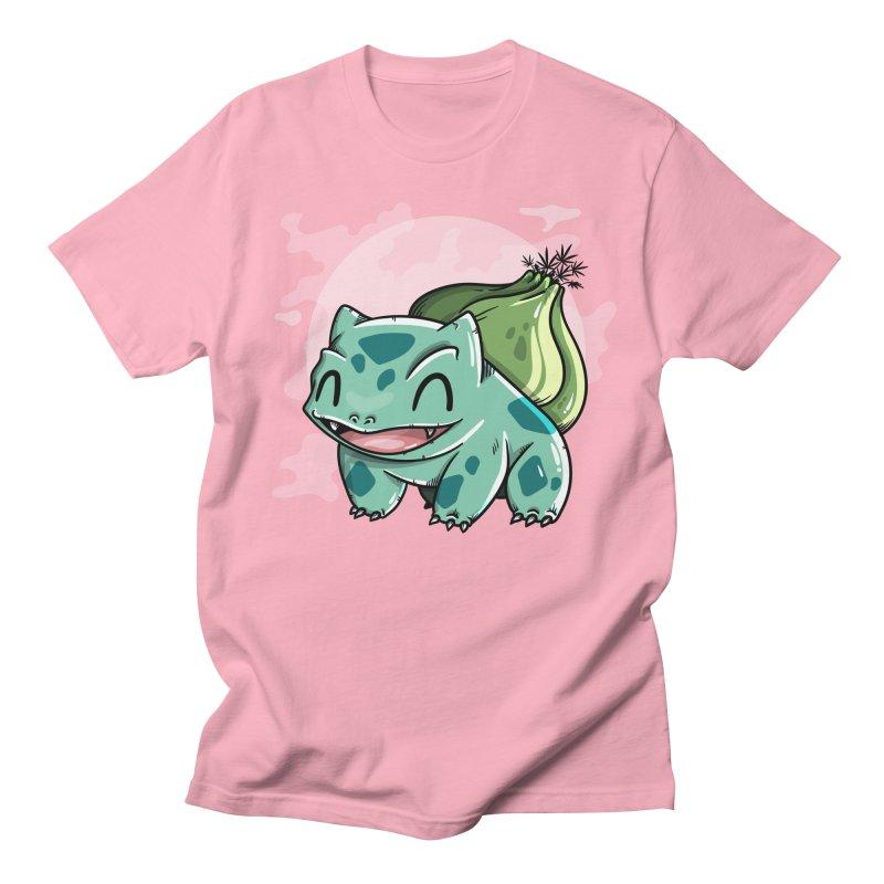 Bulbasaur Men's Regular T-Shirt by mebzart's Artist Shop