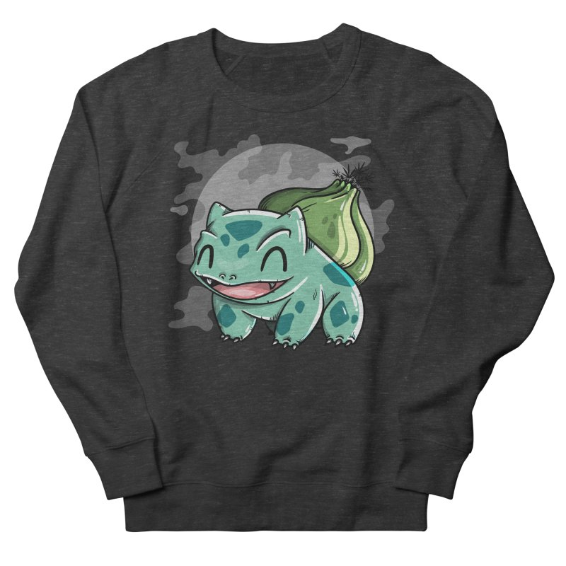 Bulbasaur Women's French Terry Sweatshirt by mebzart's Artist Shop