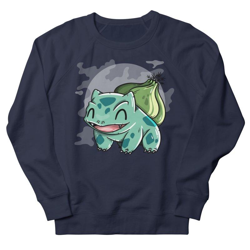 Bulbasaur Men's French Terry Sweatshirt by mebzart's Artist Shop
