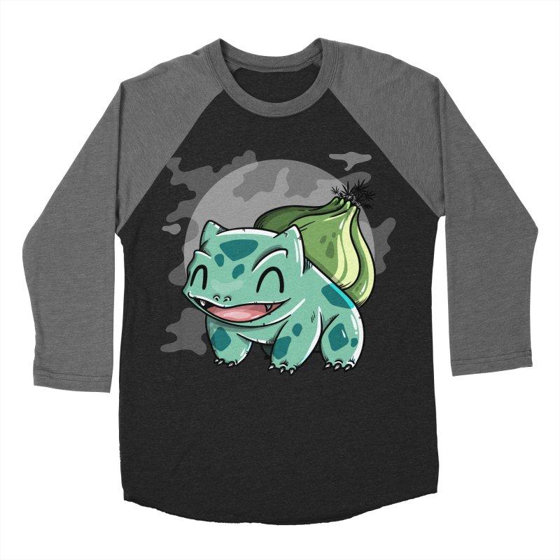 Bulbasaur Men's Baseball Triblend Longsleeve T-Shirt by mebzart's Artist Shop