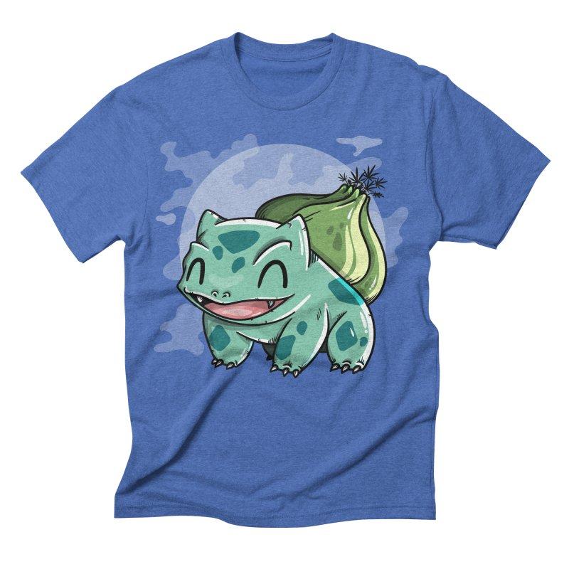 Bulbasaur Men's Triblend T-shirt by mebzart's Artist Shop
