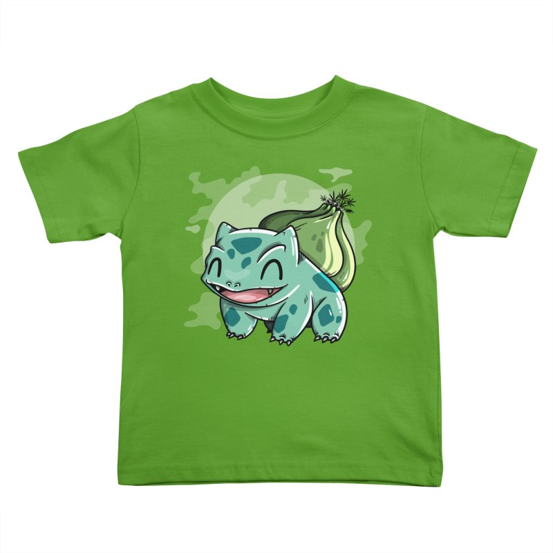 Bulbasaur Kids Toddler T-Shirt by mebzart's Artist Shop