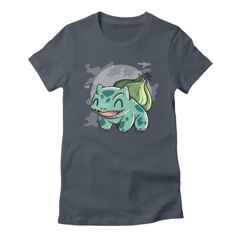 Bulbasaur Women's T-Shirt by mebzart's Artist Shop