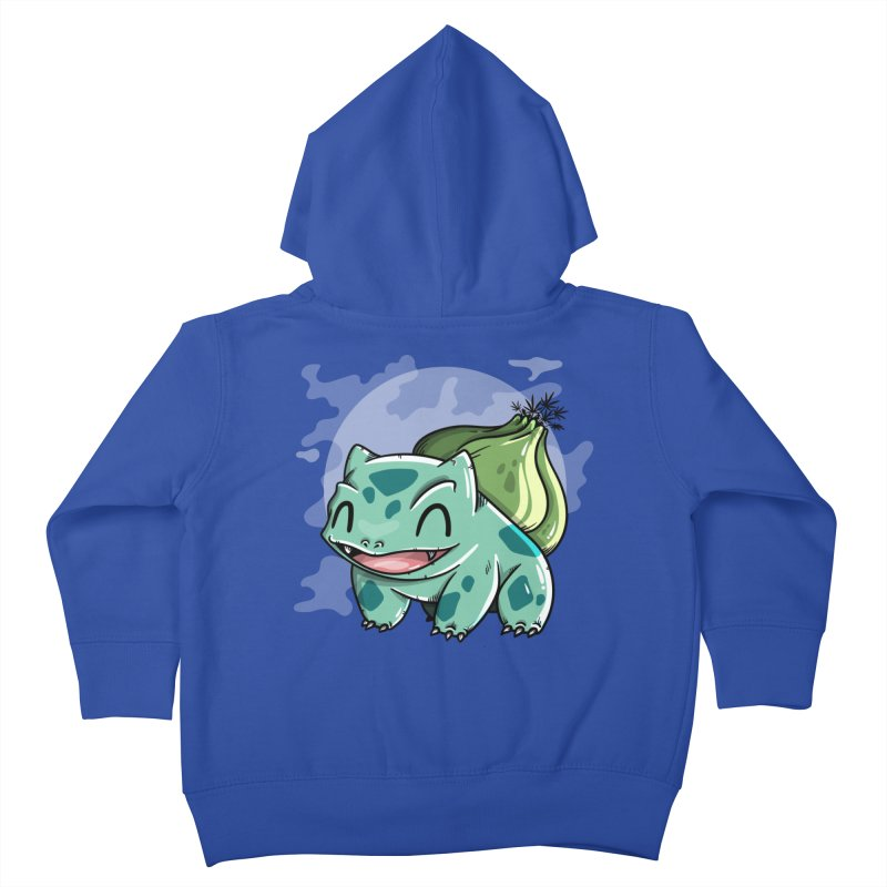 Bulbasaur Kids Toddler Zip-Up Hoody by mebzart's Artist Shop